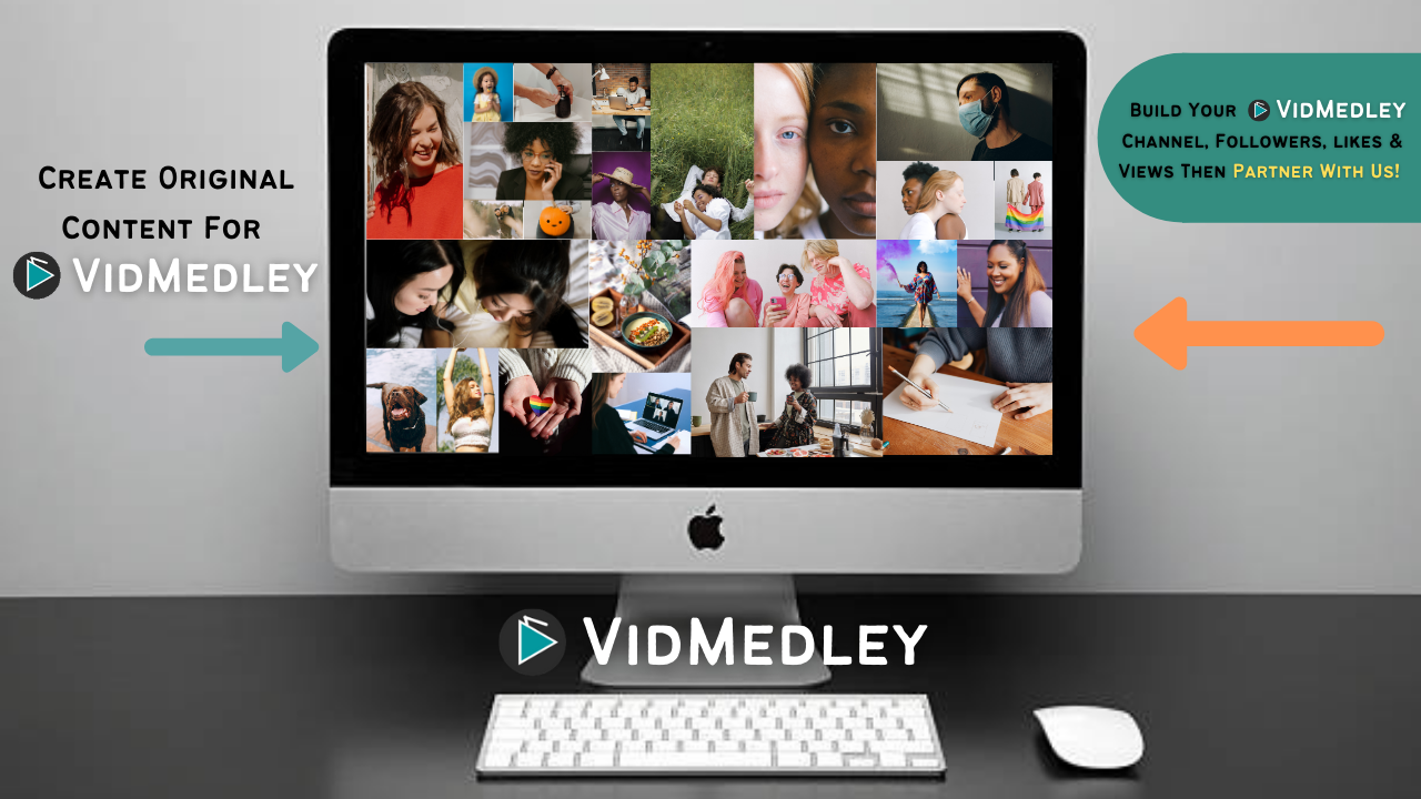vidmedley channel art